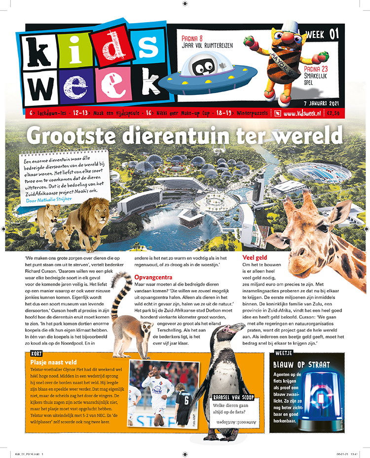 Kidsweek Cover week 40