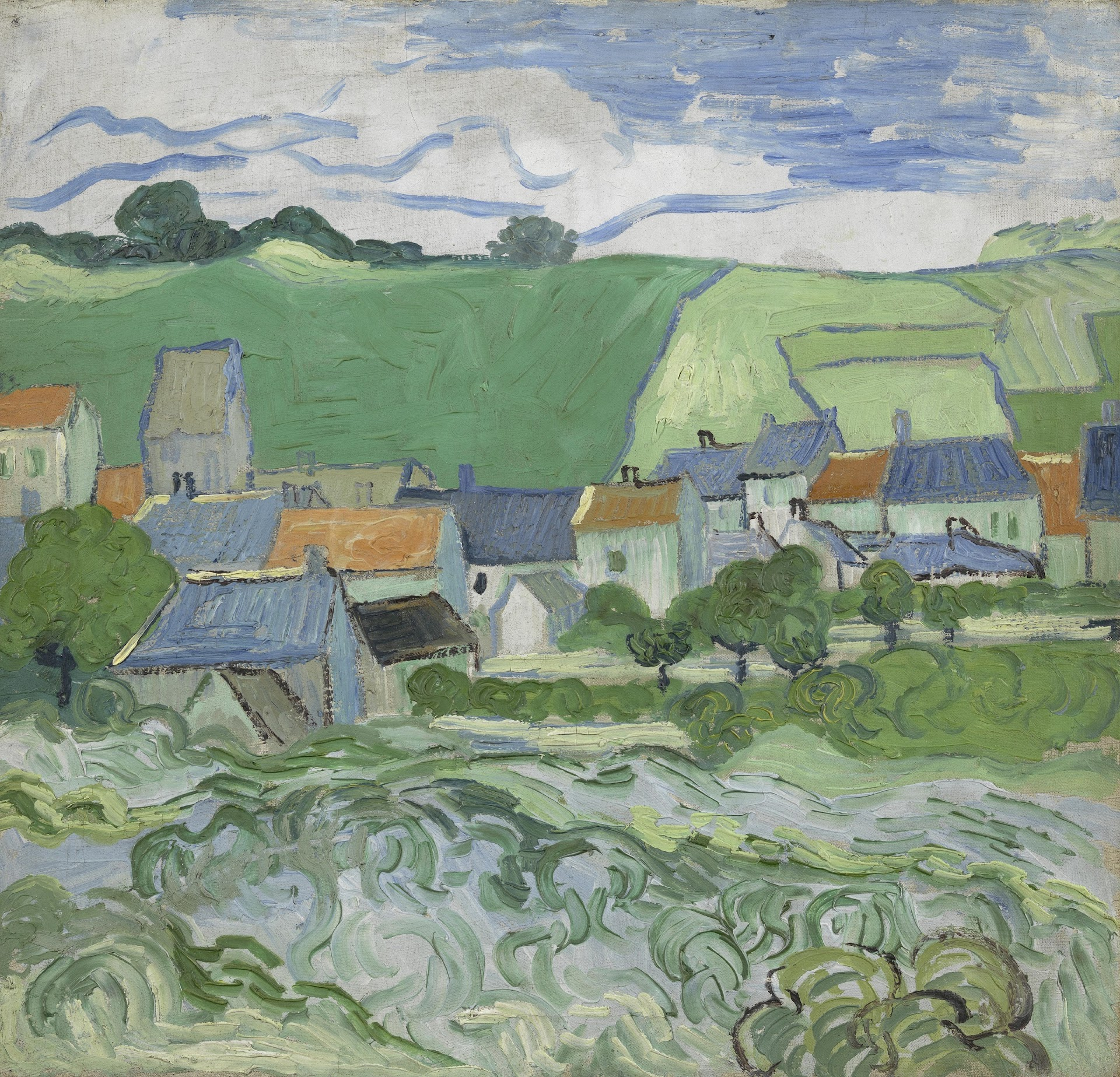 View of Auvers van Gogh