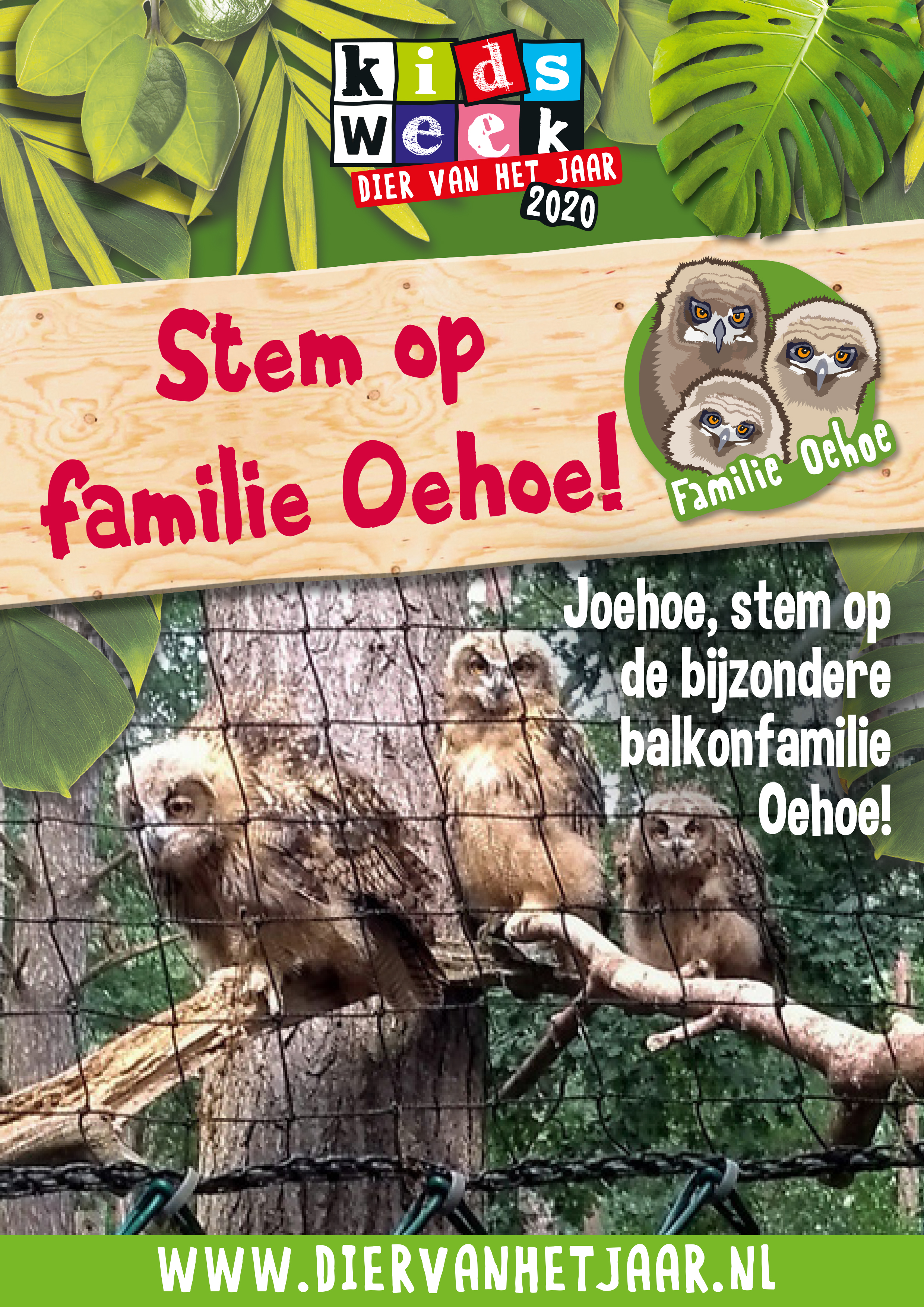 Poster Fam Oehoe