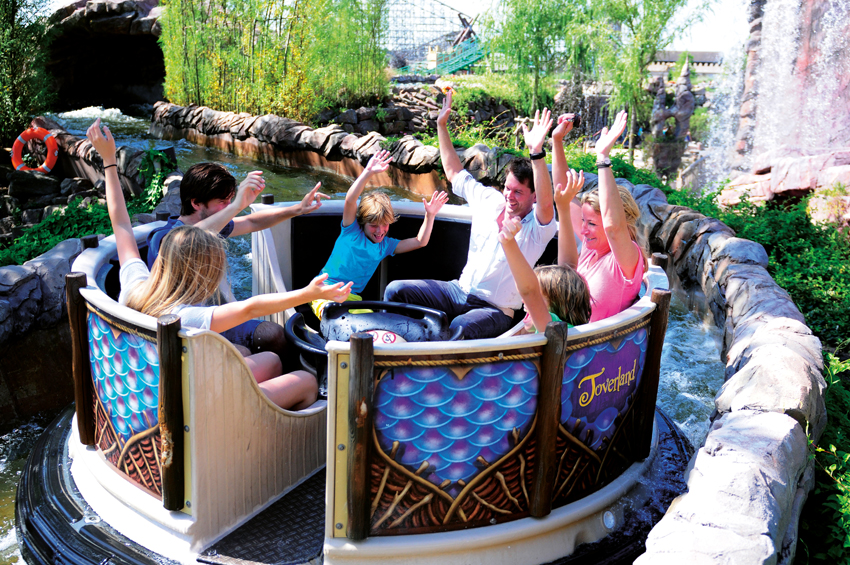 Attractie Djengu in Toverland