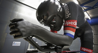 Dumoulin tijdrit Tour de France, windtunnel, TU Delft