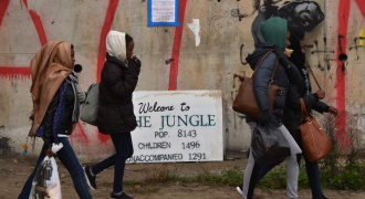 The Jungle Calais  Foto AFP