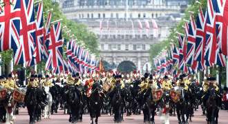 Buckingham Palace  Foto AFP