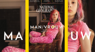 Avery voorop National Geographic