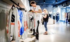 Pop-up store Justin Bieber Rotterdam